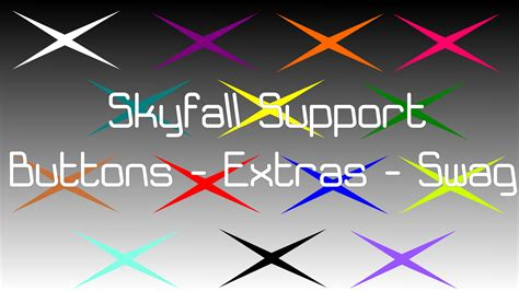 skyfall buttons extras  swag   tronicmusic  deviantart