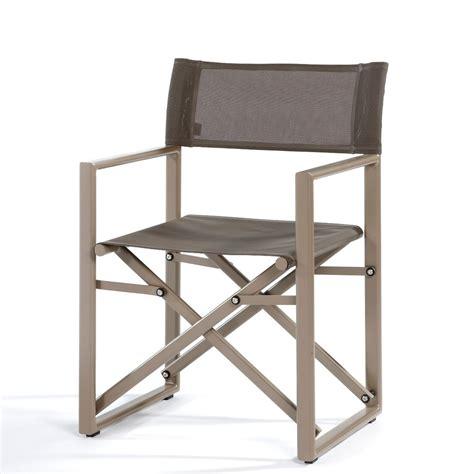fauteuil pliant director de jardinico