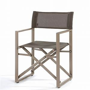 Fauteuil De Jardin Pliant : fauteuil pliant director de jardinico ~ Dailycaller-alerts.com Idées de Décoration