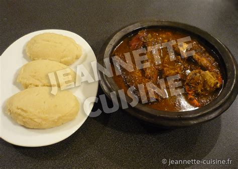 recette de cuisine cote d ivoire kabato pate de maïs a la sauce djoumgblé poudre de