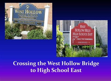 west hollow middle home hollow hills school district