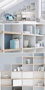 Regal Für Dachschräge : 9 besten wir stufenregale bilder auf pinterest 4x4 auge ~ Michelbontemps.com Haus und Dekorationen