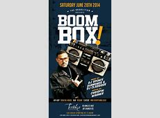 Broalition Army presents Boom Box inside Troika Vodka Boutique