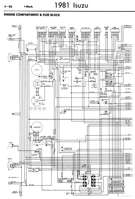 repair manuals isuzu i 1981 wiring diagrams