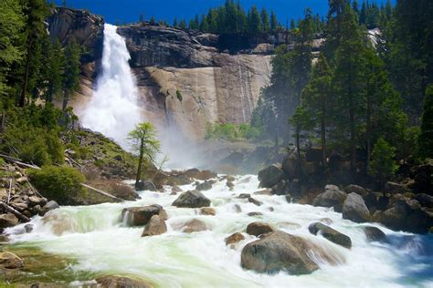 Nevada Falls Yosemite National Park Taken Couple