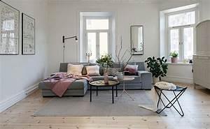 Salon Gris Et Rose : get the look une d co de salon en rose et gris shake ~ Melissatoandfro.com Idées de Décoration