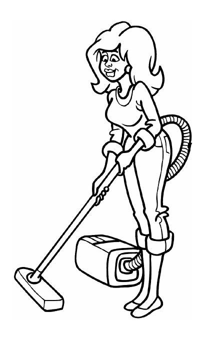 Cleaning Vacuum Cleaner Line Decal Pretty Decals
