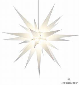 Herrnhuter Stern Beleuchtung : herrnhuter stern i8 wei papier 80 cm von herrnhuter sterne ~ Michelbontemps.com Haus und Dekorationen