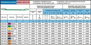 2 Ply Webbing Slings Bs3481