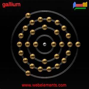 Gallium»properties of free atoms [WebElements Periodic Table]