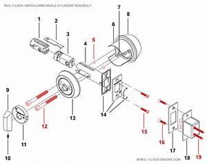 Door Lockset Diagram  U0026 Prado Peachtree Sliding Door
