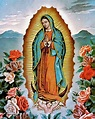 Our Lady of Guadalupe Virgin Mary Blessed Mother Virgen de ...