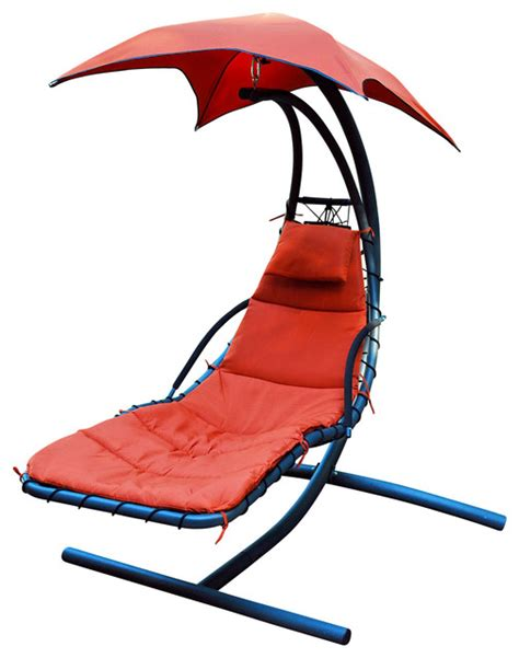 cloud 9 hanging chaise lounger contemporary hanging