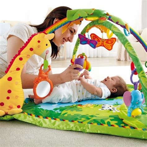 tapis d 201 veil de la jungle fisher price avis de maman et test produit de parents