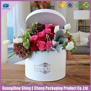 Blumen In Der Box : wasserdichte recycelbare kartonschachteln runder versandkarton luxus blumenkasten mit deckel ~ Orissabook.com Haus und Dekorationen
