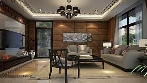 Creative ideas living room wall