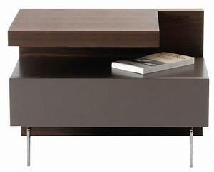 Table De Chevet Etroite : table de chevet roche bobois ~ Teatrodelosmanantiales.com Idées de Décoration