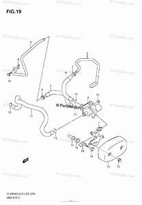Suzuki Motorcycle 2008 Oem Parts Diagram For Second Air