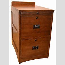 Mission Solid Oak 2drawer File Cabinet  Craftsman