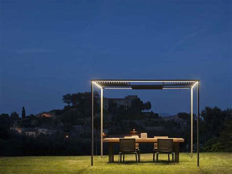 illuminazione per gazebo gazebo con illuminazione palo alto by vibia design josep