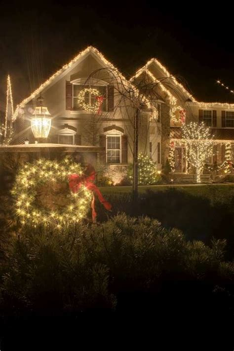 christmas light installation by neave group outdoor