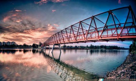 pont metallique fond decran hd  telecharger elegant