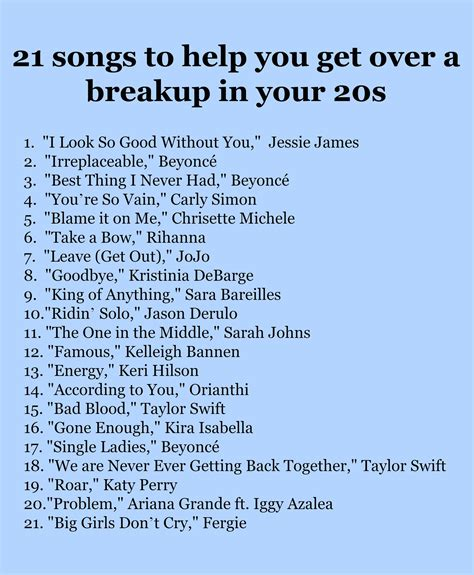 Briar Essay Quotes by Briar S Ultimate Breakup Playlist 21 Empowering Songs To