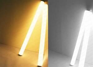 Dimmable Video Light 20w 30w φ40 1200mm 360 Degree Lighting Rigid Led Tube