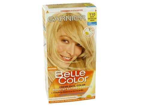 Belle Color Blond Tres Tres Clair Naturel N°110