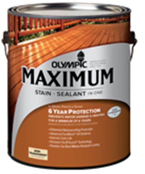 Olympic Deck Stain Remover by Olympic Maximum Stain Sealant In One Review Best Deck