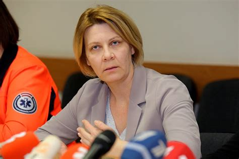 Veselības ministrijas valsts sekretāre Daina Mūrmane ...