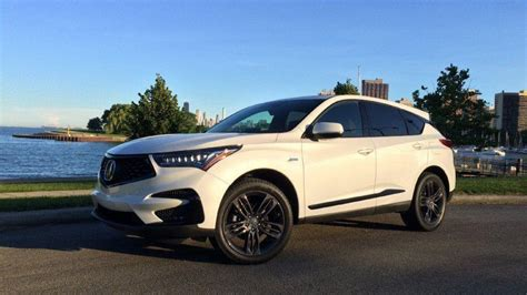 acura rdx compact crossover details