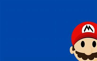 Mario Nintendo Bros Games Minimalism Desktop Wallpapers
