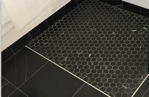 nero marquina black marble 2x2 quot hexagon honed mosaic