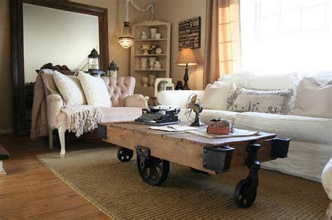 Der Couchtisch Aus Holzunique Coffee Table Design Rustic Furniture With Look 5 by Kreative Diy Ideen F 252 R Einen Couchtisch Auf Rollen