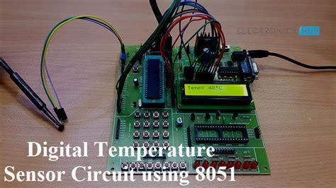 Digital Temperature Sensor Circuit Using Avr