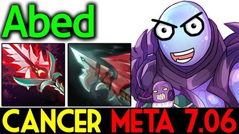 cancer meta  gameplay arc warden  abed dota  youtube