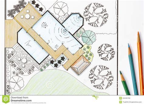 backyard plans designs landscape architect design garden plans for backyard stock photo image of drafter landscape
