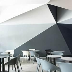 Weiße Farbe Angebot : 3d wand streichen ideen schwarz grau wei e farbe wand farben w nde streichen w nde und ~ Eleganceandgraceweddings.com Haus und Dekorationen
