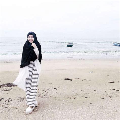 Style Busana Untuk ke Pantai | Biutifa Tips Sehat dan Cantik untuk Muslimah