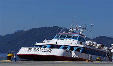 Bodrum Deprem Catamaran by Bodrum Dan Yunanistan A Katamaran Feribot Seferleri