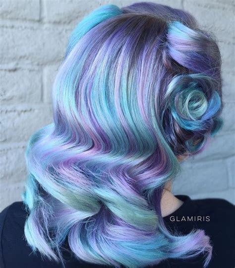 1000 Ideas About Blue Hair Highlights On Pinterest