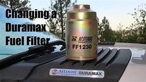 Duramax 6 6l Fuel Filter Change