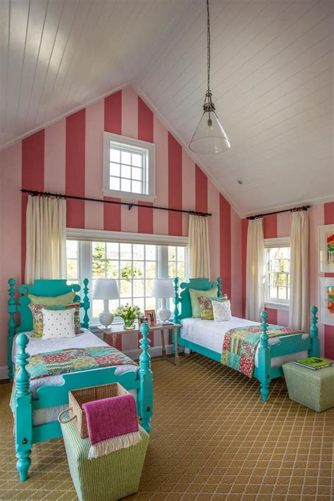 bedroom with pink walls hgtv dream home 2015 kids bedroom hgtv dream home 2015 14476 | 1414697797867