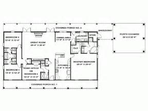 4 bedroom one story house plans eplans ranch house plan single story southern 2492 square and 4 bedrooms from