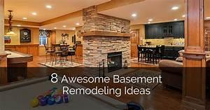 8 Awesome Basement Remodeling Ideas [Plus a Bonus 8