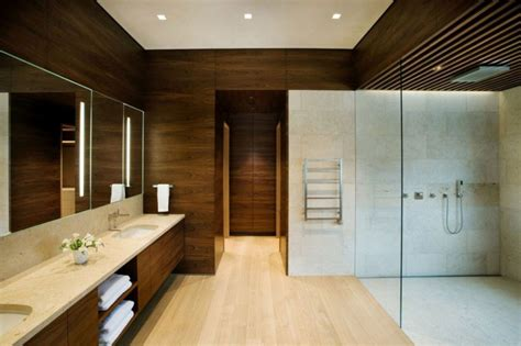 Modern Spa Bathroom by Villa Modern Spa Like Contemporary Bathroom At Linear