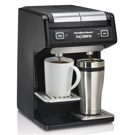 Whether you want a traditional drip brew or a single serving using a this opens up a whole new world of choice for you. Hamilton Beach Flexbrew Manual | Bruin Blog