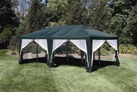 deluxe tent sun shelter 20ft x 12ft in green discount tents