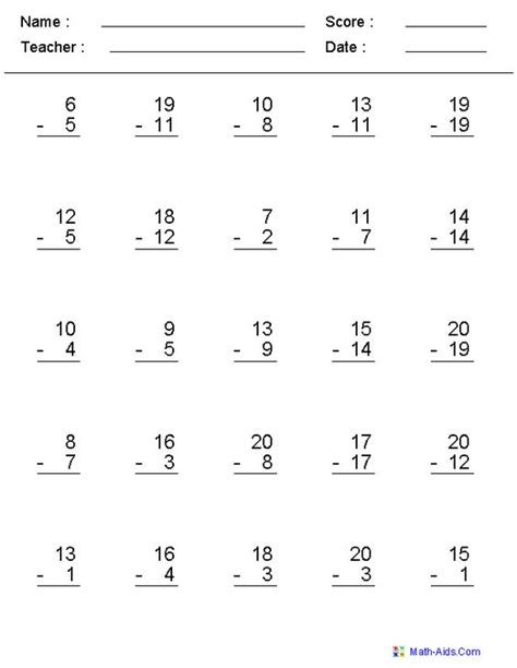 create addition and subtraction worksheets free addition and subtraction worksheets grade 5